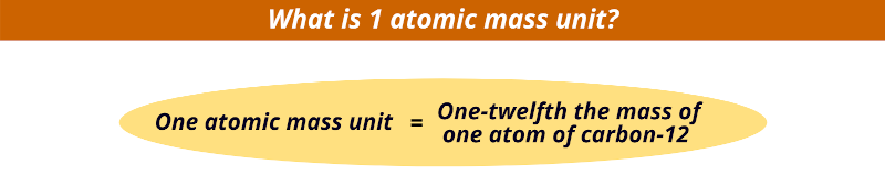 what is 1 atomic mass unit